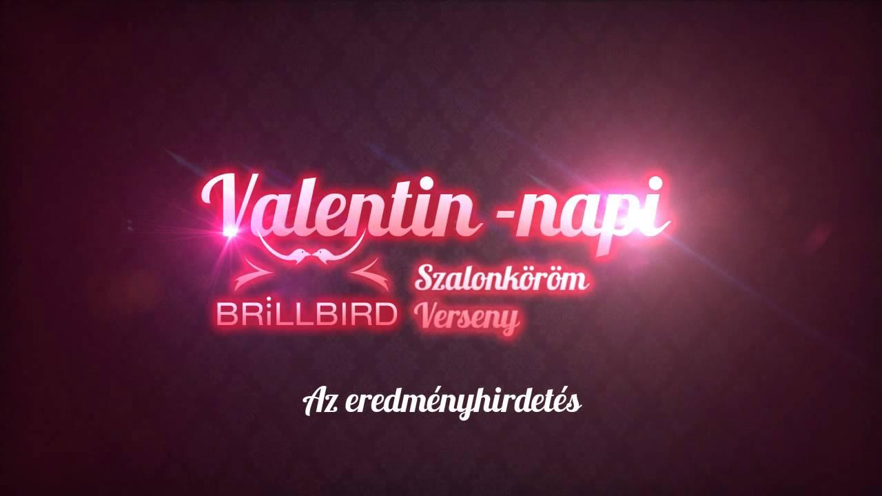 Valentin-napi BrillBird Szalonköröm Verseny